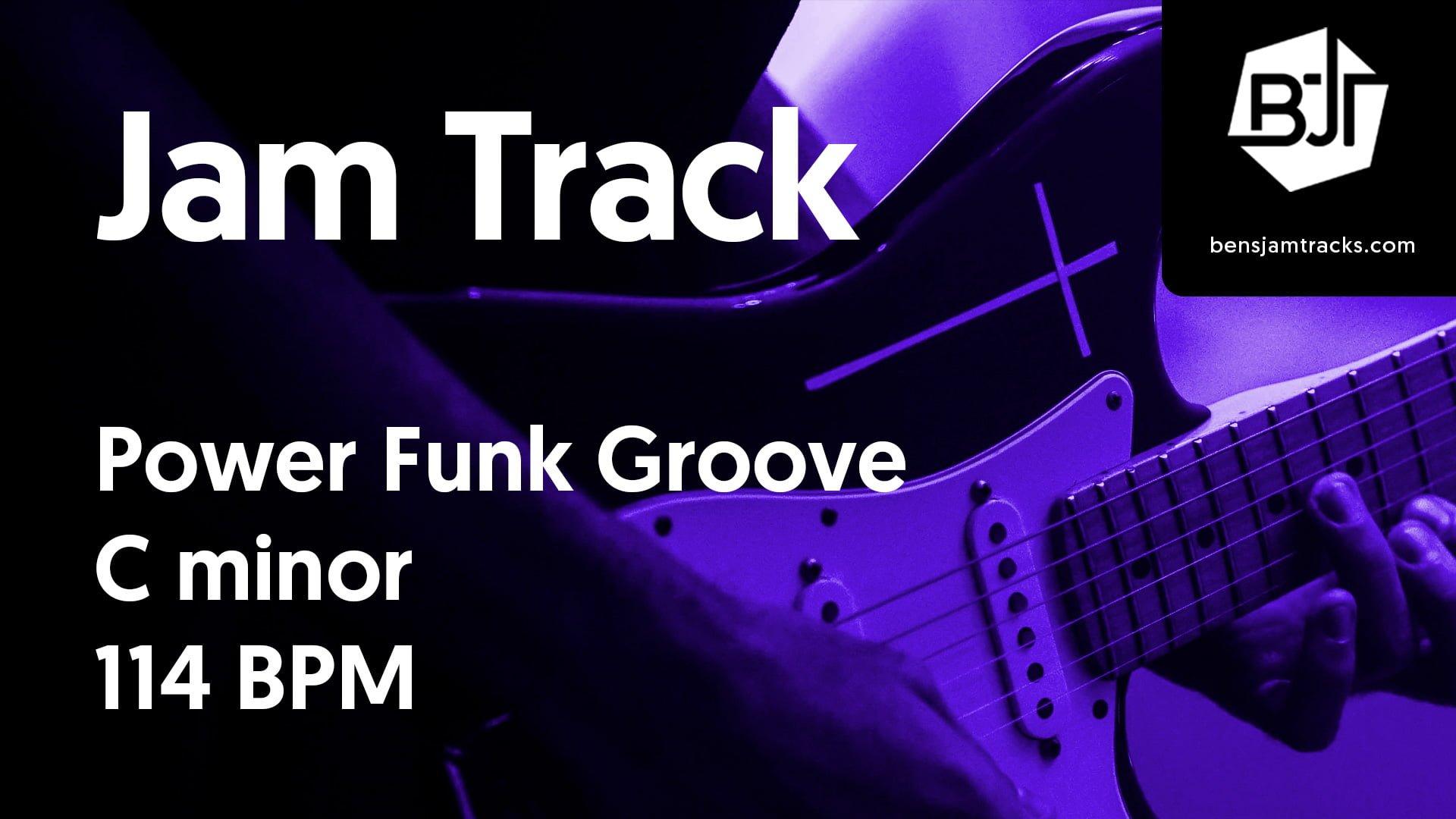 Power Funk Groove in C minor – BJT #34