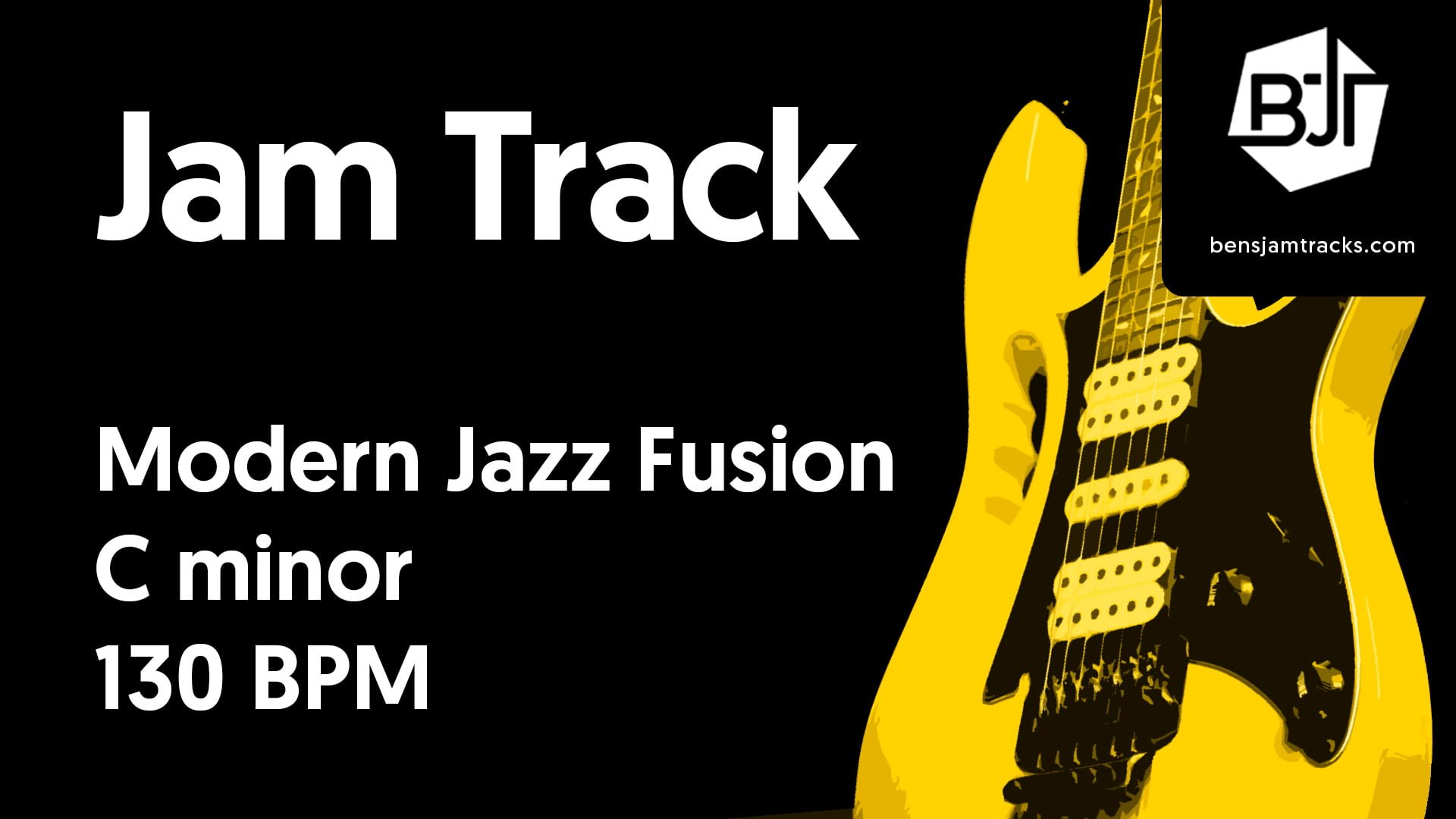 Modern Jazz Fusion in C minor – BJT #38