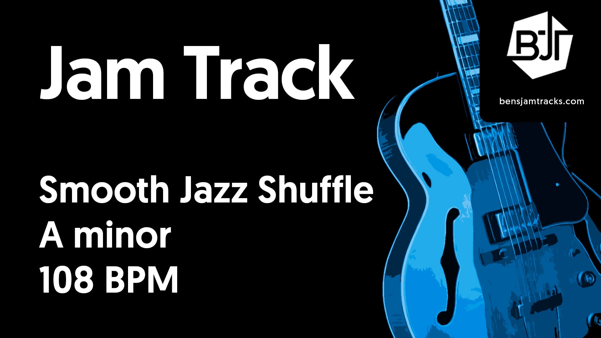 Smooth Jazz Shuffle in A minor – BJT #39