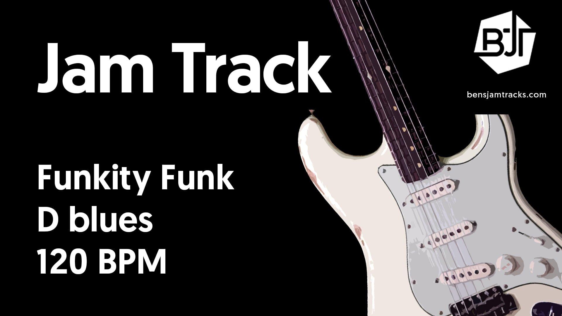 Funkity Funk in D blues – BJT #43