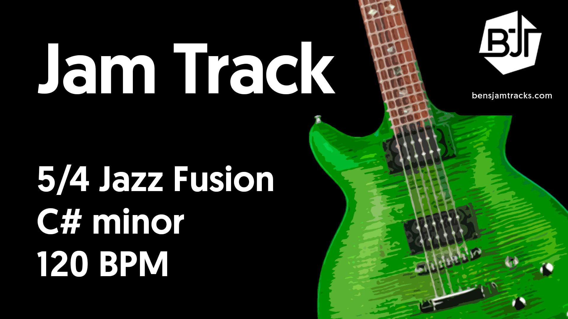 5/4 Jazz Fusion in C# minor – BJT #44