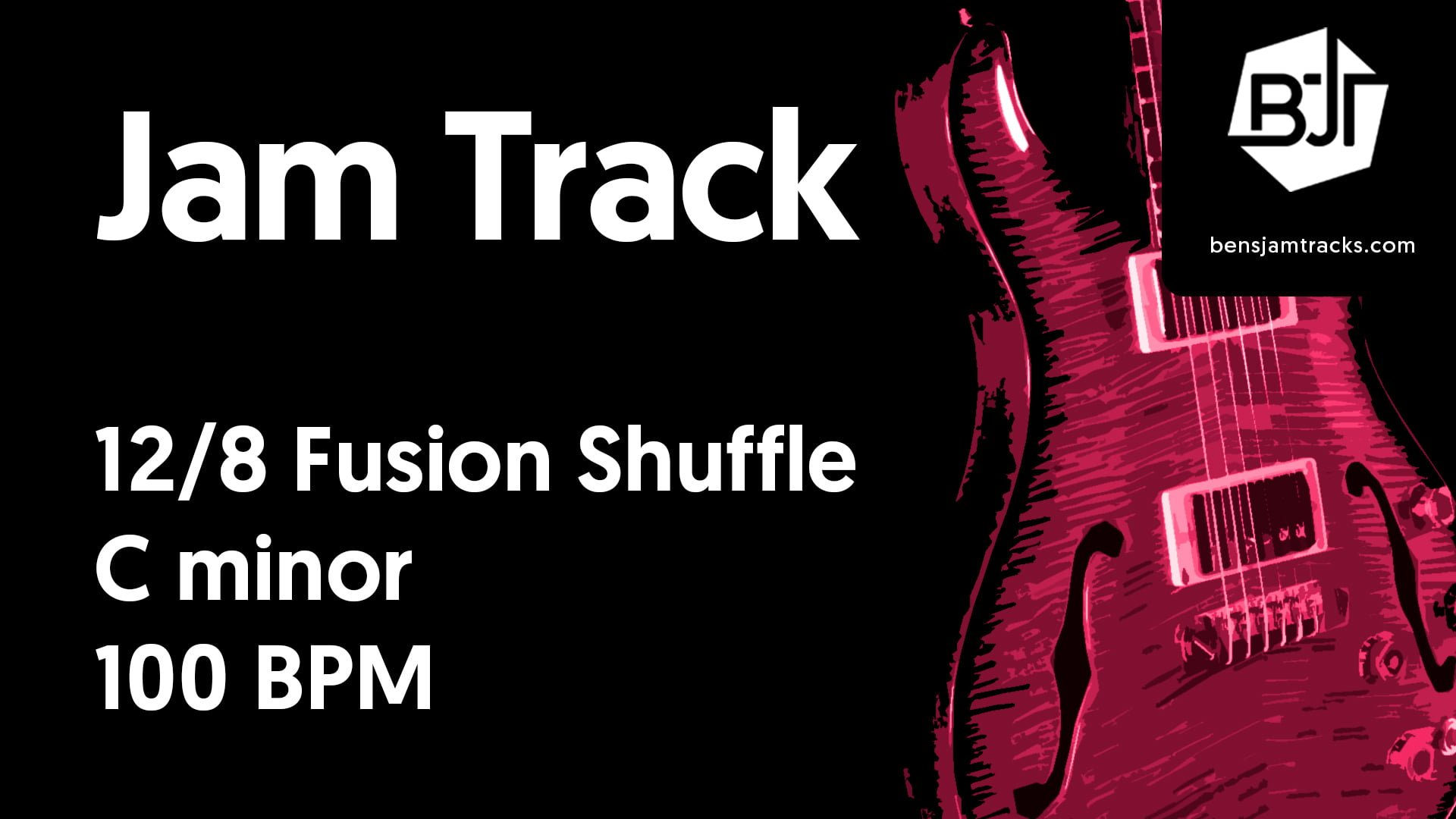 12/8 Fusion Shuffle in C minor – BJT #46