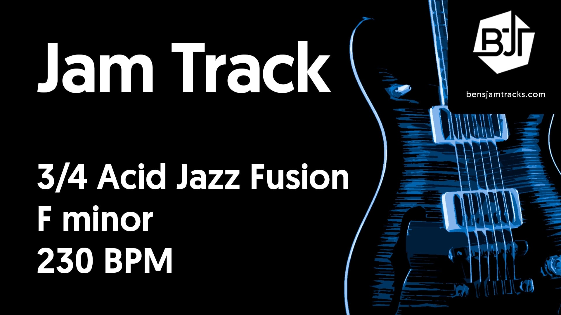 3/4 Acid Jazz Fusion in F minor – BJT #47